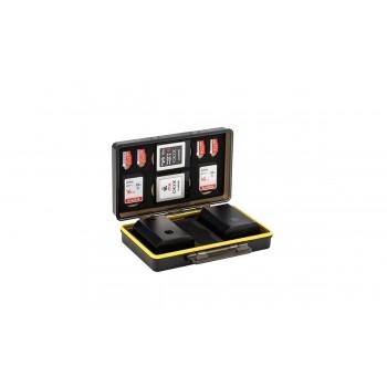 JJC BC-3UN1 Многофункциональный корпус для аккумулятор х2 и карты памяти x6