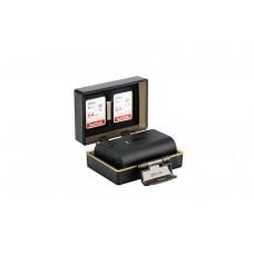 JJC BC-UN2 Защитный бокс для аккумулятора и двух карт памяти SD карты