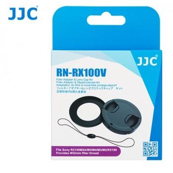 Комплект адаптера фильтра и крышки объектива JJC RN-RX100V