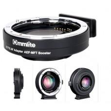 Переходное кольцо Commlite CM-AEF-MFT Booster для Canon EF на Micro 4/3 камеры