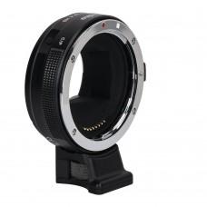 Переходное кольцо Commlite CM-EF-E HS для Canon EF/EF-S на байонет Sony E-mount камеры