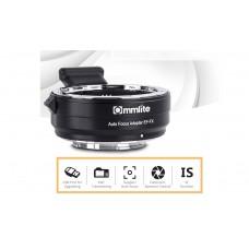 Переходное кольцо Commlite CM-EF-FX с автофокусом для Canon EF / EF-S объектива на Fujifilm FX беззеркальных камеры