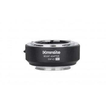 Переходное кольцо Commlite CM-ENF-E1 PRO для Nikon F на Sony E-Mount