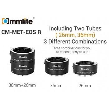 Commlite CM-MET-EOS R  Макрокольца для canon EF to EOS R mount camera