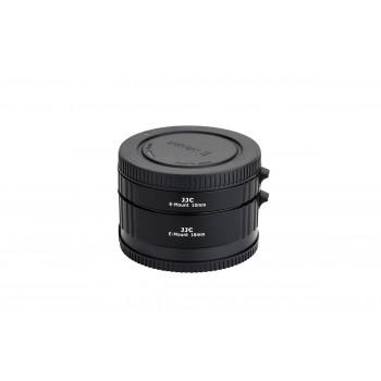 Макрокольца JJC AET-SES (II) комплект для фотоаппаратов Sony E-Mount 10мм/ 16мм