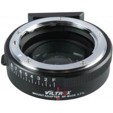 Адаптер Viltrox NF-M43X 0,71x Booster для Nikon G/D/F mount to M4/3 mirrorless camera