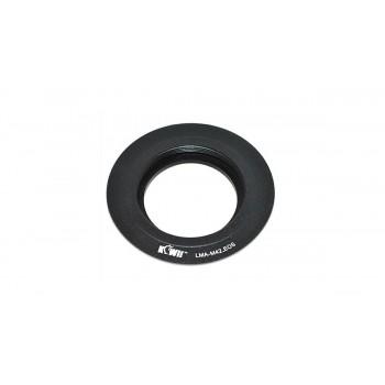 Переходное кольцо KIWIFOTOS LMA-M42_EOS для M42 объективы на байонет Canon EOS камеры