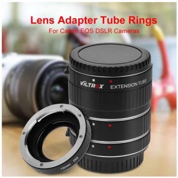 Макрокольца Viltrox DG-C комплект для фотоаппаратов Canon EOS 12mm/ 20mm/ 36mm