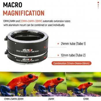 VILTROX DG-Z байонетный автофокус макрокольца для Nikon Z6 Z7 Z50