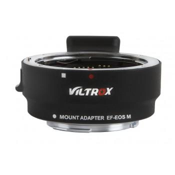 Переходное кольцо VILTROX EF-EOSM с автофокусом для Canon EF/EF-S объективы на Canon EF-M беззеркальные камеры
