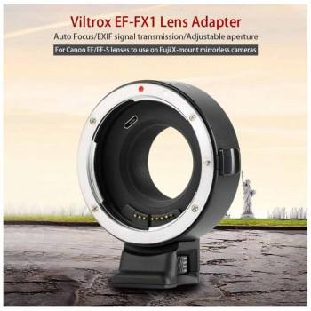 Переходное кольцо VILTROX EF-FX1 для Canon EF lens на Fuji X mount камеры