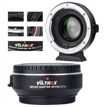 Переходное кольцо VILTROX EF-FX2 для Canon EF lens на Fuji X байонет камеры