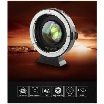 Переходное кольцо VILTROX EF-M2 для Canon EF/EF-S байонет на M43 камеры