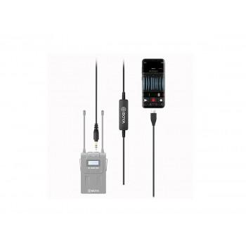 Boya 35C-USB-C с TRS 3,5мм на USB Type-C Переходник для Андроид USB Type-C
