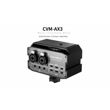 Универсальный двуканальный аудио микшер COMICA CVM-AX3