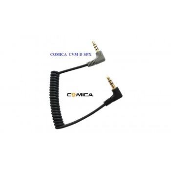 Аудио конвертер кабель Comica CVM-D-SPX  TRRS для смартфонов