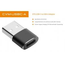 Адаптер OTG USB Type-C Female to USB Type-A Male Comica CVM-USBC-A