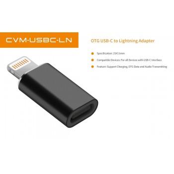 Адаптер Адаптер COMICA  CVM-USBC-LN (OTG USB-C to Lightning Adapter)