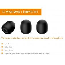 Comica CVM-WS1(3pcs) ветрозащита для петличного микрофона