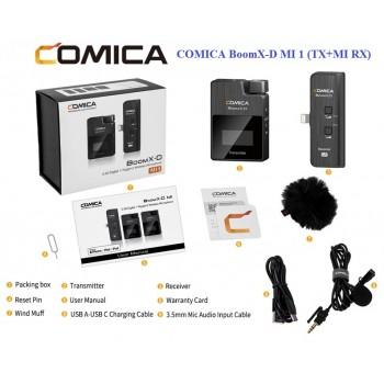 Микрофон COMICA BoomX-D MI1 (TX+MI RX)