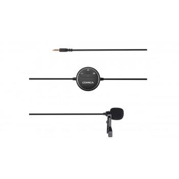COMICA CVM-SIG.LAV V03 всенаправленный петличный микрофон с предусилителем, для камеры Canon Nikon Sony и смартфонов