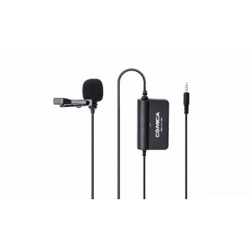 COMICA CVM-SIG.LAV V05 всенаправленный петличный микрофон с предусилителем, для камеры Canon Nikon Sony и смартфонов