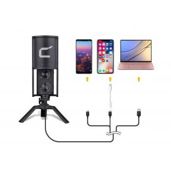 Микрофон Comica STM USB
