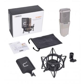 COMICA STM01 Профессиональный студийный микрофон для камеры