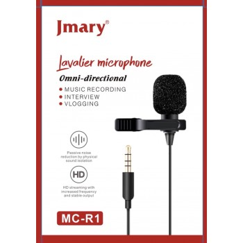 Петличный микрофон Jmary MC-R1 3,5 mini jack