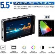 Профессиональный накамерный монитор Viltrox Timbrecod DC-56HD 5.5 inch 4K HD Touch Screen