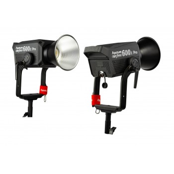 Студийный свет Aputure Light Storm LS 600X PRO Bi-color V-mount kit
