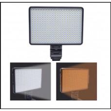 Накамерный свет Professional Video Light LED-320 зарядка + Акку. F550