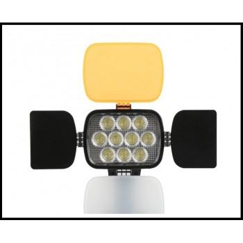 Накамерный свет Professional Video Light LED-VL012 Акку. NP-F770 + зарядное устройство