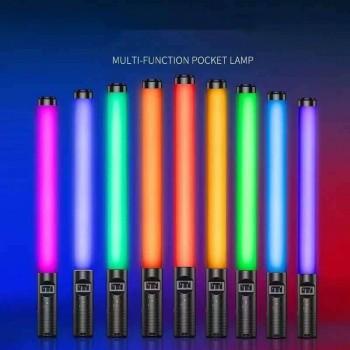 Светодиодная заряжаемая лампа RGB Light Stick для фото и видео съемки