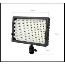 Накамерный свет NanGuang CN-304C (7500k-3200k Ra:95) + Адаптер на Panasonic D16/28/54