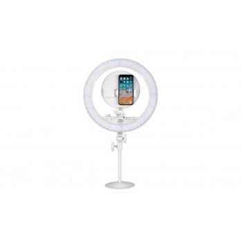Кольцевая лампа для смартфона YONGNUO YN-208 PRO c Пульт + M18 Косметическое зеркало