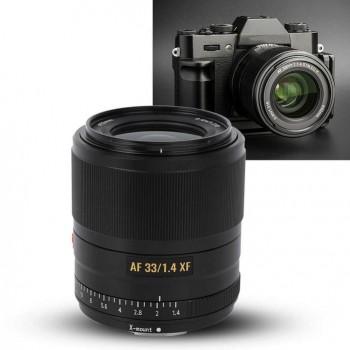 Объектив Viltrox XF 33mm f1.4 APS-C Prime Autofocus Lens For Fuji X-mount Mirrorless Camera