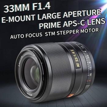 Объектив Viltrox AF 33mm F1.4 E-mount Autofocus Prime Lens for Sony APS-C Mirrorless Digital Camera