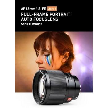 Объектив Viltrox AF 85mm f/1.8 STM II (v2) для Sony E-mount