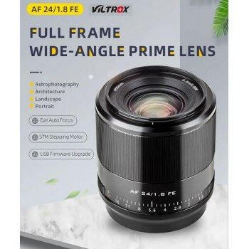 Объектив Viltrox AF 24мм F1.8 для Sony E-mount Full Frame