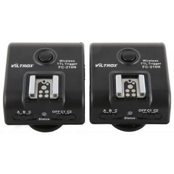 Радиосинхронизатор Viltrox FC-210N для Nikon