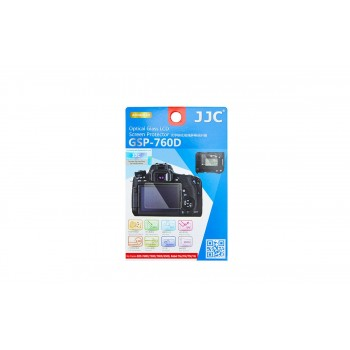Защитный экран JJC GSP-760D для Canon EOS 800D/ 760D/ 750D/ 700D/ 650D/ 8000D/ 9000D Kiss X9i/ X8i/ X7i/ X6i Rebel T6i/ T6s/ T5i/ T4i