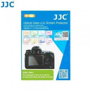 Защитное стекло JJC GSP-EM1 для OLYMPUS E-M10 IV/III/II/E-M10, E-M5 III/II/E-M5, E-M1 II/E-M1, E-P5/7, E-PL7/8/10, E-M1X, PEN-F