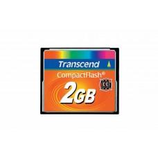 Карта памяти Transcend CompactFlash 2ГБ 133X (TS2GCF133)