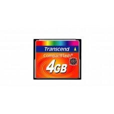 Карта памяти Transcend CompactFlash 4ГБ 133X (TS4GCF133)