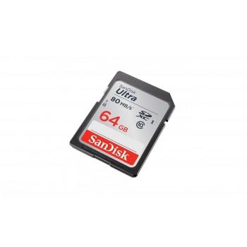 Карта памяти SanDisk Ultra SDXC 64GB Class 10 UHS-I 80MB/s (SDSDUNC-064G-GN6IN)