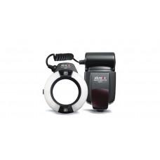 Вспышка Viltrox JY670 Кольцевой светодиодный осветитель