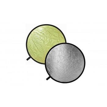 Отражатель Bowens REFLECTOR DISC золото/серебро диаметр 56см