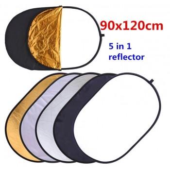 Отражатель 5 в 1 Commlite CM-FR90120 диаметр 90cm-120cm