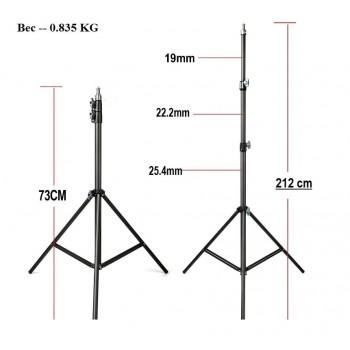 Стойка YUER WT803 для света, вспышки и зонт 73 x 212 см